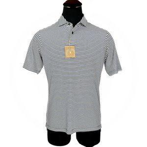 New Fairway & Greene USA Brooks Stripe Polo Shirt